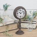 MTL. TABLE CLOCK (10/cs)
