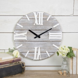 WD. WALL CLOCK (8/cs)