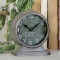 "MTL. TABLE CLOCK ""PARIS"" (36/cs)"