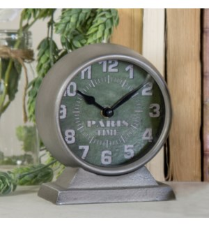 "|MTL. TABLE CLOCK ""PARIS""