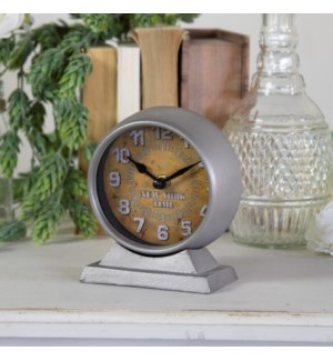 "MTL. TABLE CLOCK ""NEW YORK"""