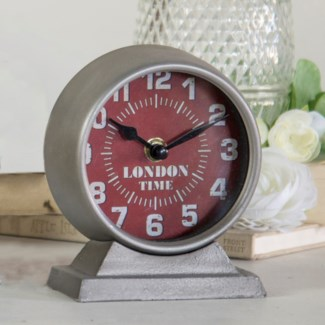 "MTL. TABLE CLOCK ""LONDON"" (36/cs)"