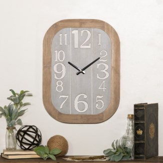 WD. WALL CLOCK (6/cs)