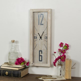 WD. WALL CLOCK STRETCHED (6/cs)
