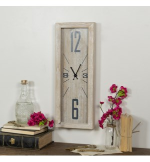 |WD. WALL CLOCK STRETCHED|