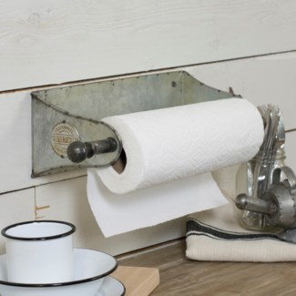 MTL. WALL MOUNT PAPER TOWEL HLDR. (6/cs)