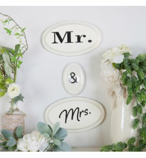 "MTL. ""MR. & MRS."" SET/3"