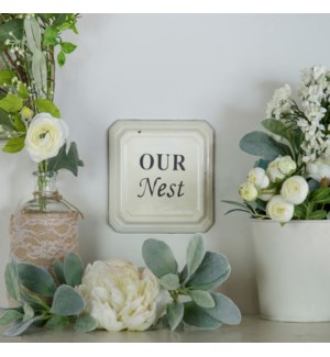 "|MTL. ""OUR NEST"" SIGN