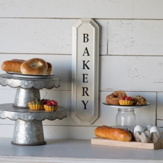 "|MTL. ""BAKERY"" SIGN(18/cs)