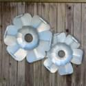  MTL. FLOWERS SET/2 (1 set/cs) 