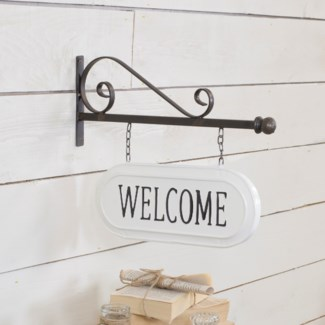 "MTL. SIGN ""WELCOME"" (8/cs)"