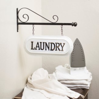 "MTL. SIGN ""LAUNDRY"" (8/cs)"