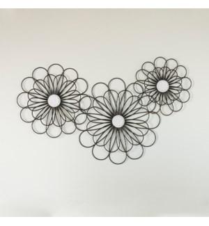 MTL. FLOWERS S/3