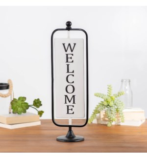 MTL. WELCOME SIGN TABLETOP