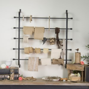 Ribbon & Blanket Rack