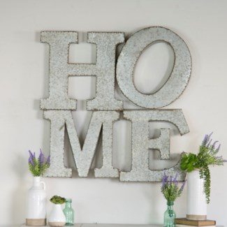 MTL. HOME WALL DECOR (2/cs)