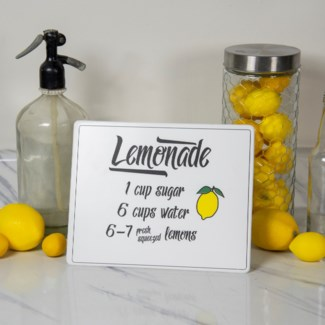 "MTL. SIGN ""LEMONADE"" (12/cs)"