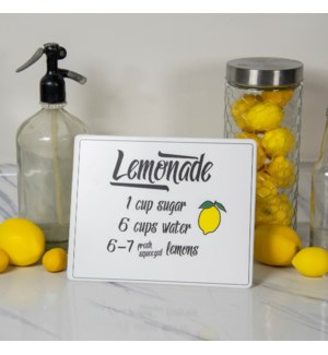 "|MTL. SIGN ""LEMONADE""