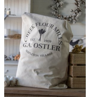 "|FABRIC BAG ""CREEK FLOUR MILLS""
