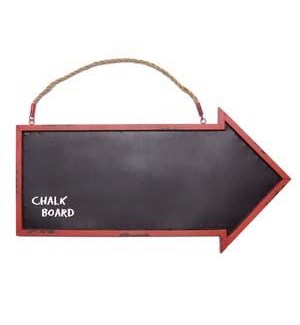 |MTL. ARROW CHALKBOARD|