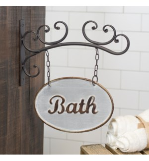 |MTL. BATH SIGN|