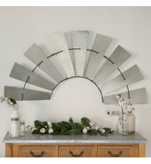 |MTL. WINDMILL WALL DECOR|