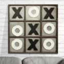 MTL. TIC TAC TOE WALL DECOR (2/cs)