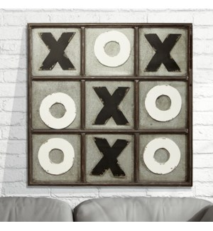 MTL. TIC TAC TOE On the Wall