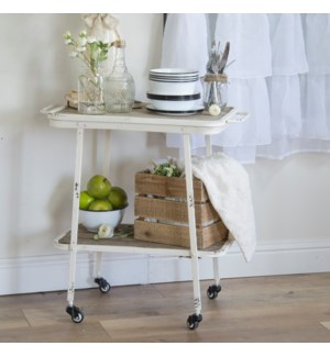 |MTL. ROLLING BAR CART|