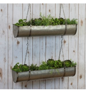 |MTL. HANGING PLANTER|