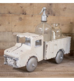 |MTL. DECORATIVE TRUCK WHITE|