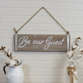 "|WD. SIGN ""GUEST"" (8/cs)