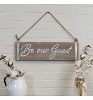 "|WD. SIGN ""GUEST""