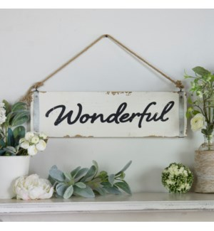 "|WD. WORD ART ""WONDERFUL""