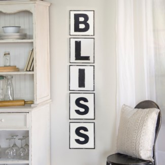 "|MTL. WORDS ""BLISS"" (5/cs)