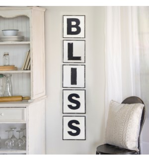 "|MTL. WORDS ""BLISS""