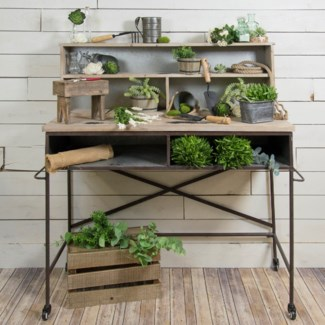 |MTL. POTTING TABLE (1/cs)|