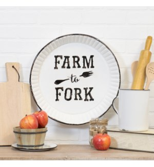 "|MTL. SIGN ""FARM TO FORK""