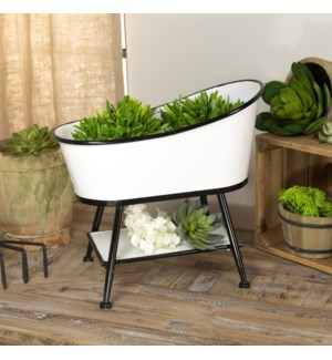 |MTL. TUB PLANTER|