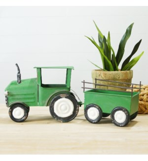 MTL. TRACTOR DECOR