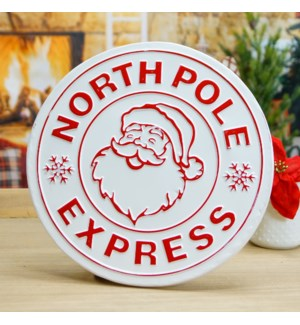 "MTL. SIGN ""NORTH POLE"""
