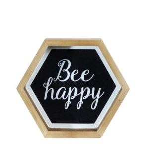 """WD. SIGN """"BEE HAPPY"""""""
