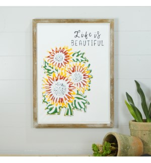 """WD. SIGN """"FLOWERS"""""""