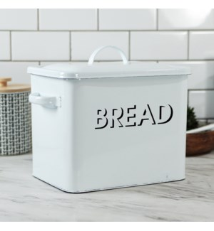 MTL. ENAMELWARE BREAD BOX