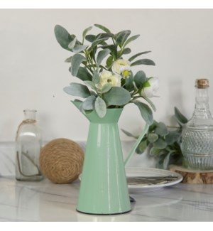 MTL. ENAMELWARE PITCHER GREEN (12/cs)