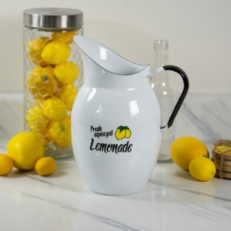 MTL ENAMELWARE LEMONADE PITCHER (6/cs)