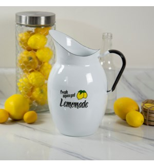 MTL ENAMELWARE LEMONADE PITCHER