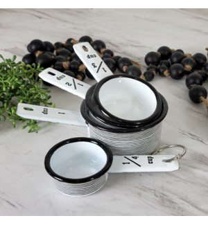 MTL. ENAMELWARE MEASURING CUPS SET
