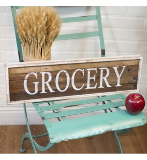 "|WD. SIGN ""GROCERY