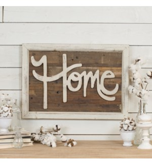 "WD. WORD ART ""HOME"""